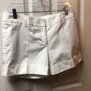 White Express Dress Shorts!